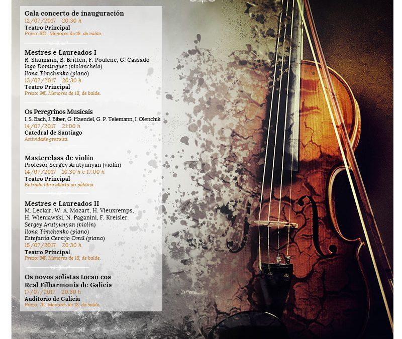 Agenda y venta de entradas del Festival Peregrinos Musicales