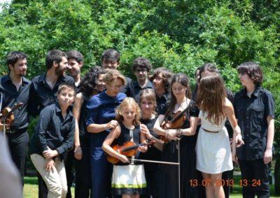 Curso A Mi La Do 2013. Escola de Altos Estudos Musicais, Santiago de Compostela