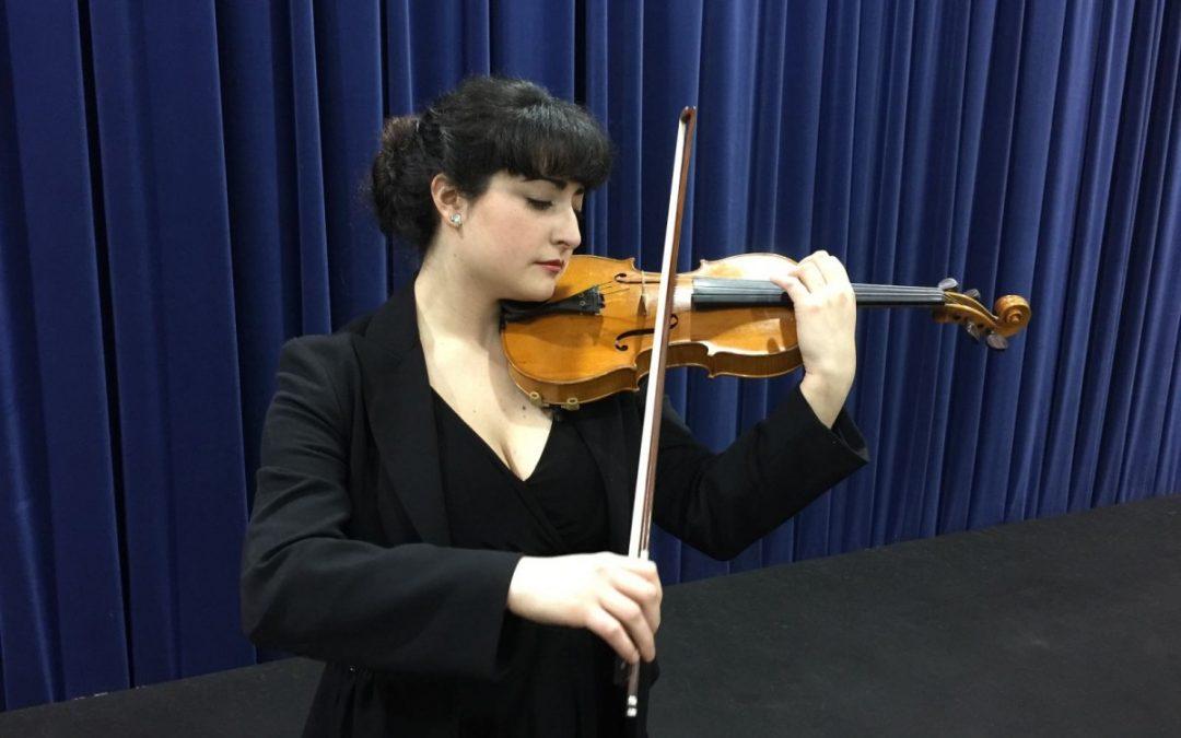 Garazi Echeandia Arrondo (violín) Pianista acompañante Brais González