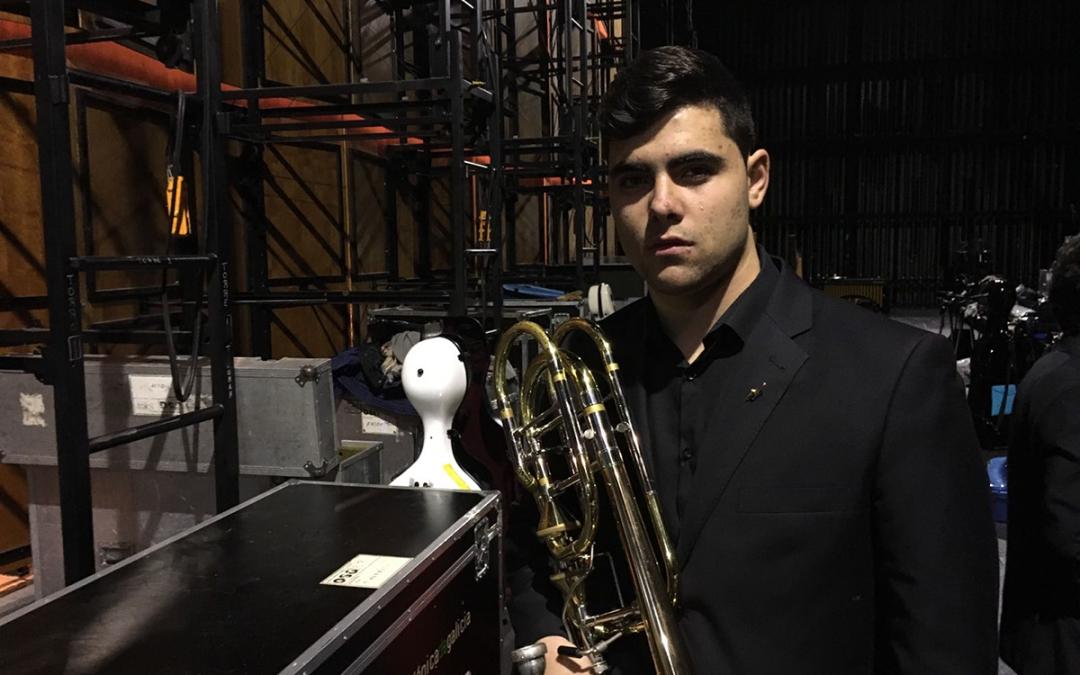 Óscar Vázquez Valiño (Trombón bajo)