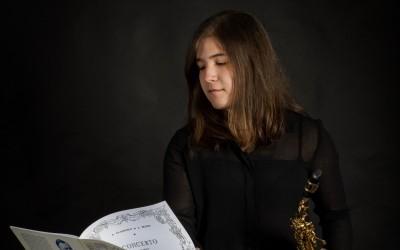 Andrea González Pérez (Saxofón)