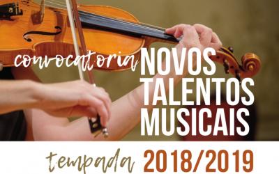 """3º Ciclo de Concertos """"Novos Talentos Musicais"""""""