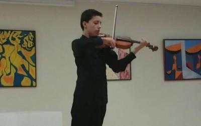 Emiliano Sanchez Velazco, Violín