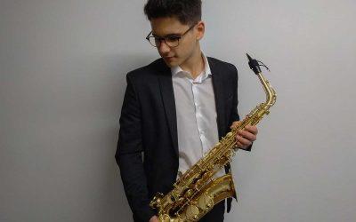 Jaime Estévez Moreira, Saxofón