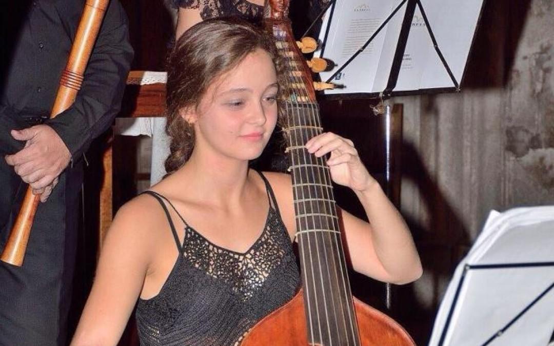 María Lourdes Olbés Corujo, Viola da gamba