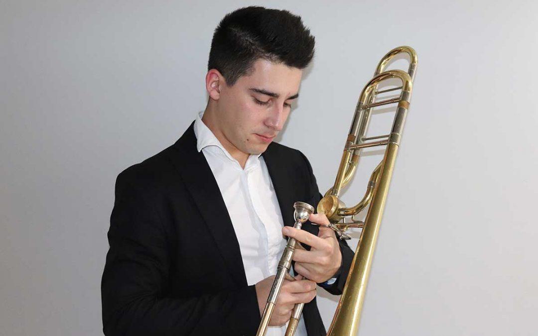 José Ramiro Pérez, Trombón