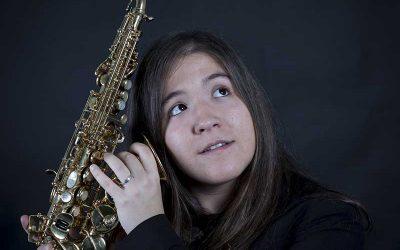 Andrea González Pérez , Saxofón alto