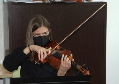 Curso de violín, música de cámara