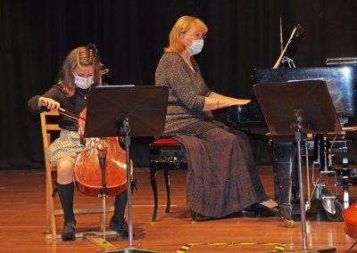 Curso de violonchelo, conjunto